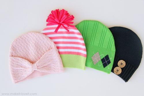 Изготовление шапок своими руками