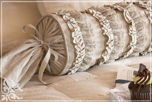 Как сшить подушку валик своими руками? Выкройки для разных 60