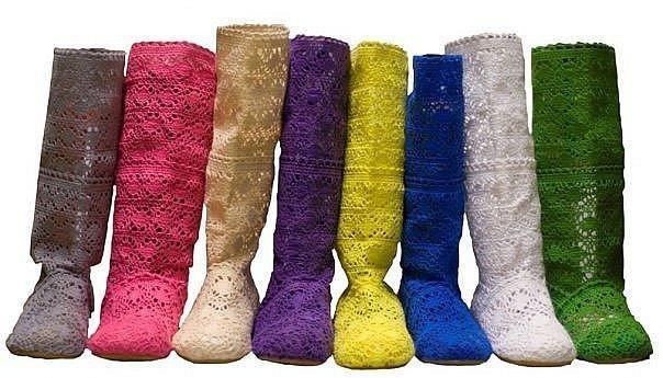 Знойный тренд: с чем  носят летние сапоги?