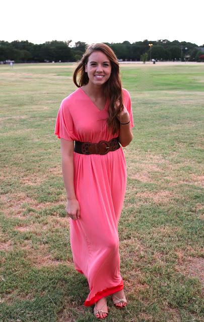 Длинное летнее платье своими руками
