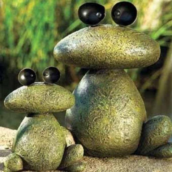 Как мастерить поделки из  камень своими руками?
