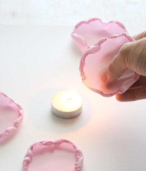 Как сделать цветок из шифона