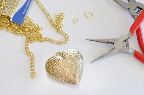 Как сделать сердце-кулон