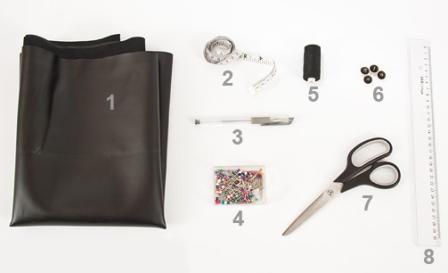 Как сделать кожаный воротничок своими руками