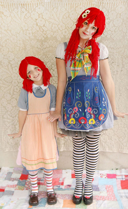 Костюм куклы на Хэллоуин своими руками