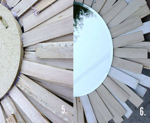 Декор зеркала - мастер-класс
