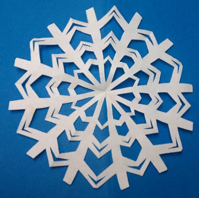 Новые идеи невозмутимо вырезать снежинку изо бумаги