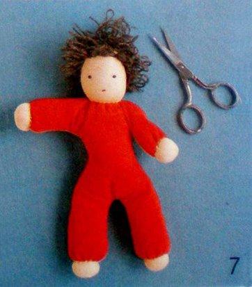 Как сделать мягкую куклу
