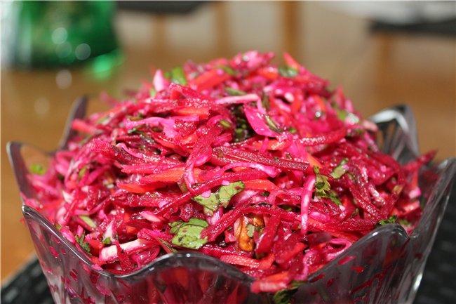 Как приготовить смачный обряд изо капусты с уксусом?