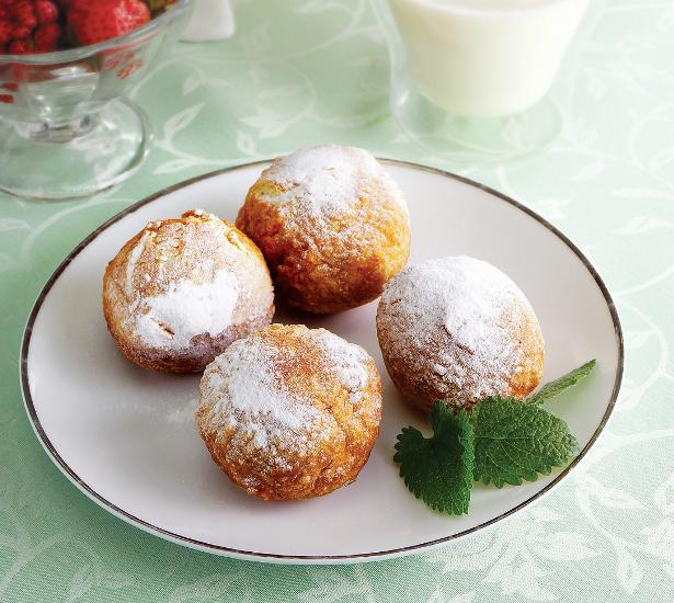 Пончики со  сгущенкой: деликатесный дессерт в  домашних условиях