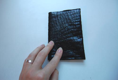 Обложка для паспорта своими руками