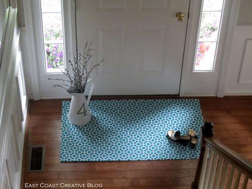 Как сделать домашний коврик