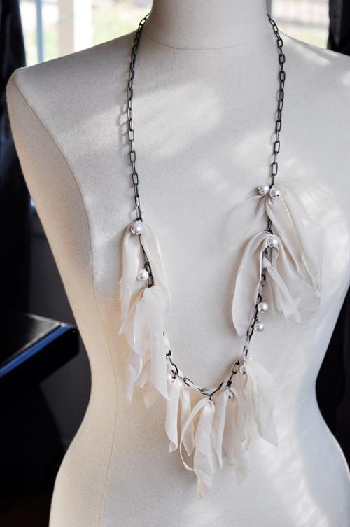 Жемчужное ожерелье своими руками