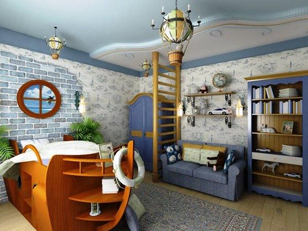 Интерьер детской комнаты: варианты оформления