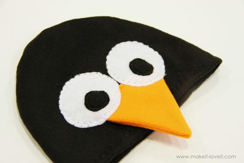 Маска пингвина своими руками фото
