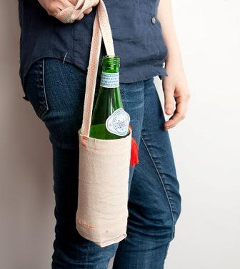 Как сшить чехол на бутылку