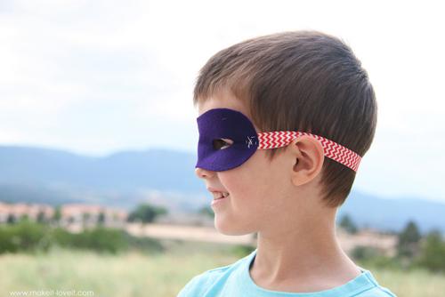 Детские маски своими руками