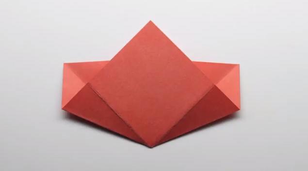 Как сделать  подснежник  кусудама изо цветной  бумаги