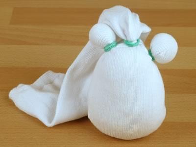 Поделка - снеговик