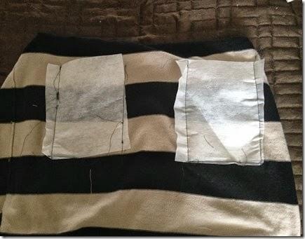 Как сделать накладной карман