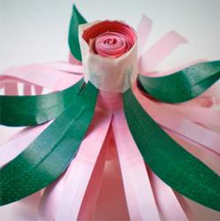 Цветы изо бумаги