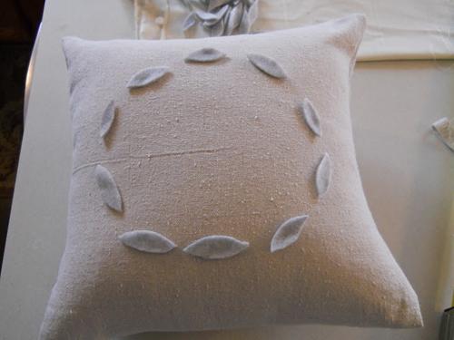 Новогодняя подушка своими руками