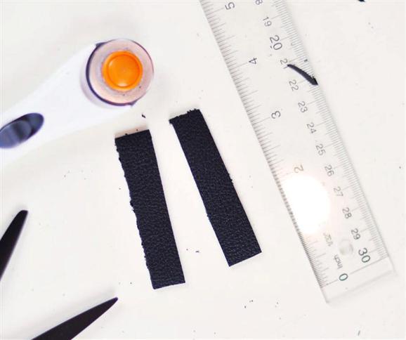 Как сделать кожаный пояс