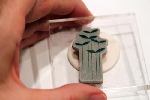 Как сделать кулон из полимерной глины
