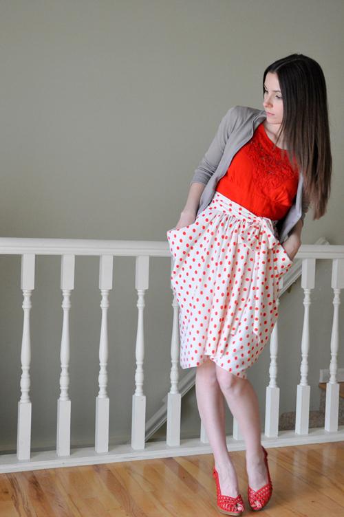 Драпированная юбка своими руками