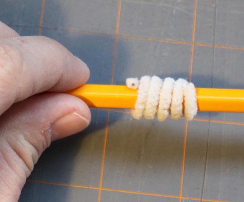 Помпоны на карандаши