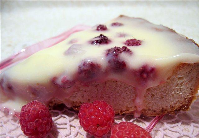 Пирог с малиной: лучшие рецепты на мультиварке