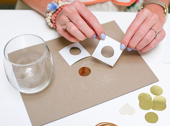 Как украсить стаканы своими руками