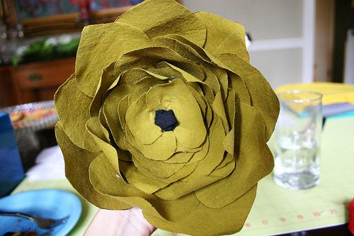 Розы из ткани - мастер-класс