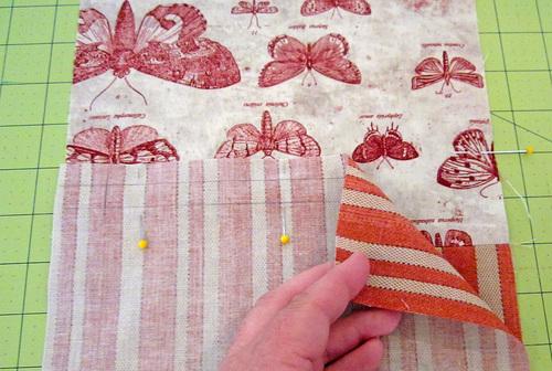 Кошелек из ткани своими руками