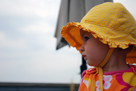 Детская панамка своими руками
