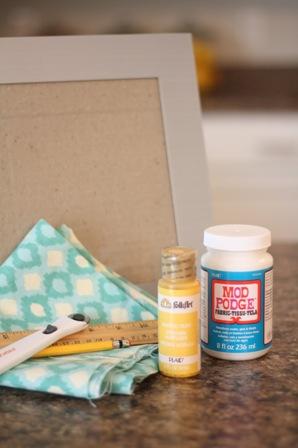 Как украсить рамку для фотографий