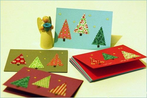 Открытка на Новый бадняк и Рождество