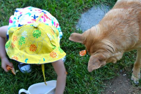 Как сшить детскую панамку