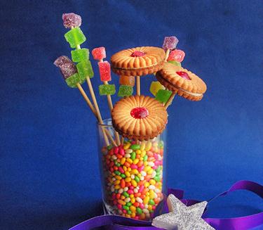 Как сделать сладкий букет