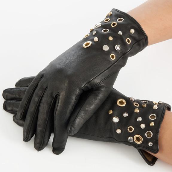 Как украсить перчатки