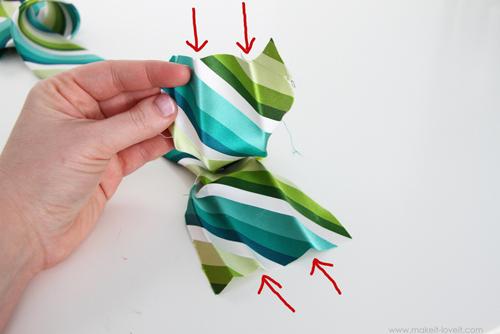 Детский галстук своими руками