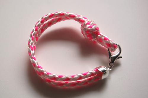 Плетение браслетов из веревки