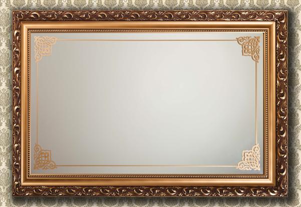 Рамка для того чтобы зеркала своими руками: чуть-чуть дизайнерских решений