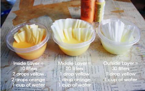 Изготовление цветов из гофрированной бумаги