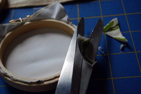 Декор из виниловых пластинок