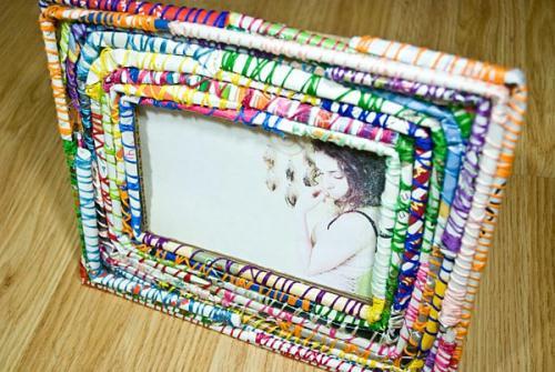Как своими руками сделать рамку из подручных материалов