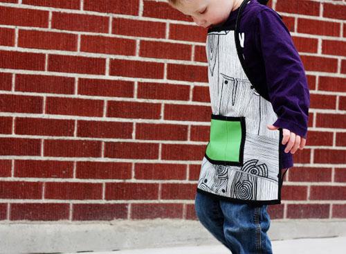 Детский фартук своими руками