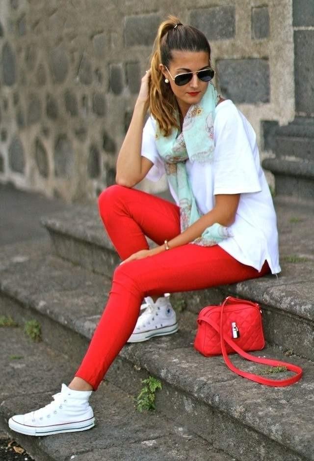 Модный фьюжен: с нежели носить кеды?