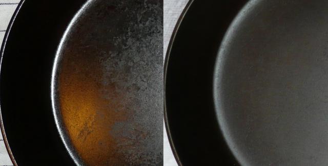 Хозяйке на заметку: будто прокалить чугунную сковородку?