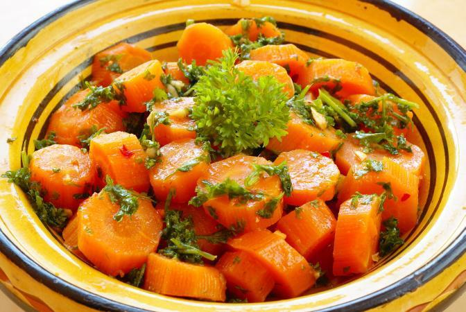 Высокая единица калорийность  у моркови?